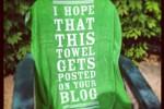 blogontowel