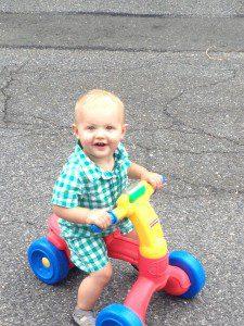 My happy boy!