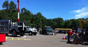 Trucks, trucks and more trucks!