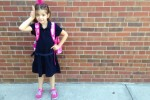 Ellie's first day of 2nd grade!