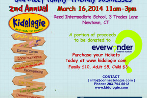 Kidologie event flyer