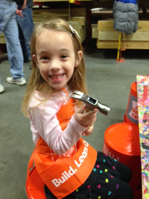 Kids Build Free At Home Depot