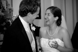 The hubby and I just celebrated our five year anniversary...still can't remember what we were laughing about in this pic!