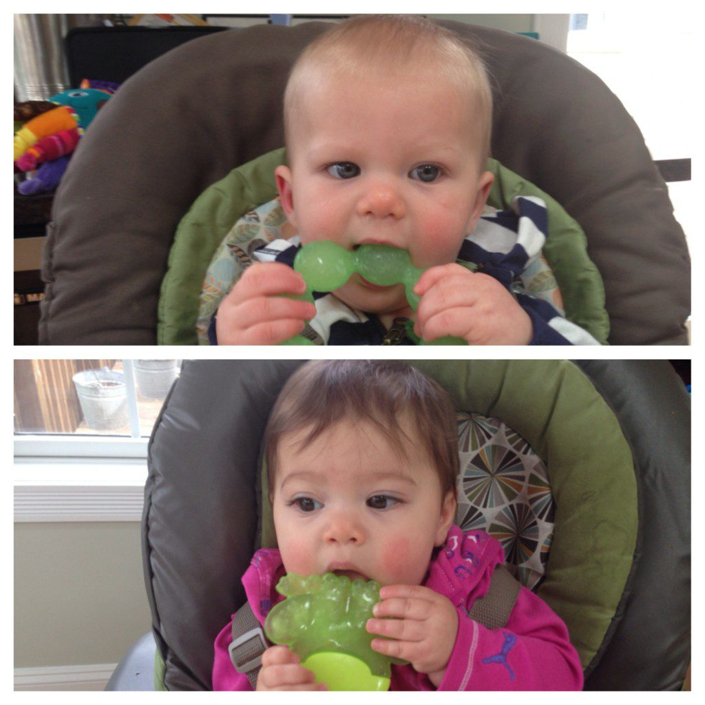 Teething times two!