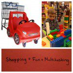 Multitasking :: Mixing Shopping with Fun