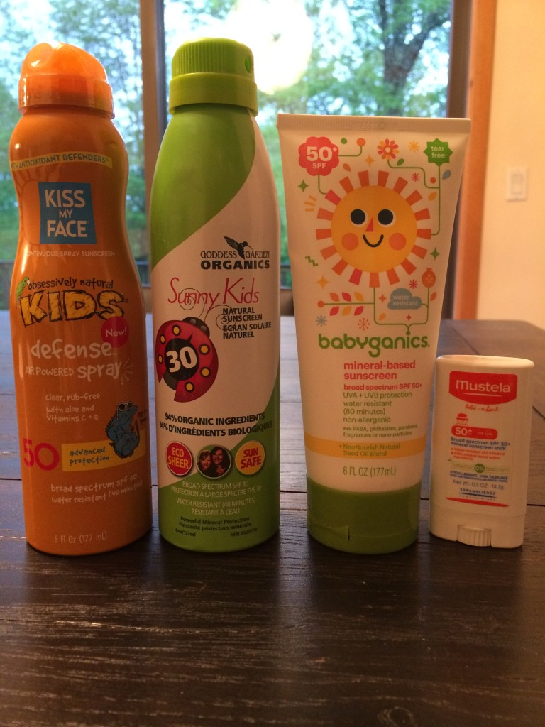 All-Natural Sunscreen Solutions