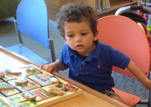 Libraries have free story times and play area