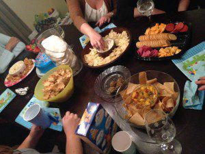 The snacks are one of the best things about book club!