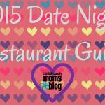 2015 Date Night Restaurant Guide