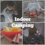 Family Fun Night  {Indoor Camping}