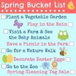 Our Family Spring Bucket List