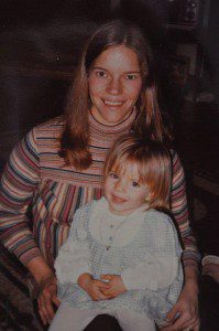 Me and my mom, circa 1979. I didn't listen too well back then, but I'm listening now!