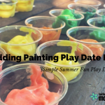 Pudding Painting Play Date Recap {Simple Summer Fun Play Date Series}