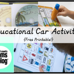 Educational Car Activities {free Printable}