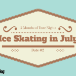 Ice-Skating in July {Date #2 in 12 Months of Date Nights}