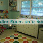 Toddler Room on a Budget