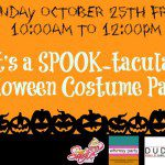 {Play Date Announcement} A Spooktacular Halloween Costume Party