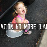 Operation No More Diapers {A Potty Training Adventure}