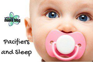 Pacifiers and Sleep