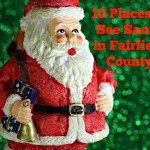 10 Places to See Santa in Fairfield County