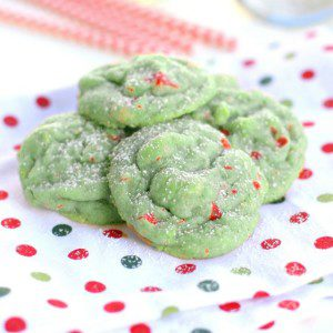 Pistachio Cherry Meltaway Cookies {The Girl Who Ate Everything on i heart naptime}