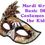Party Time: Basic DIY Mardi Gras Costumes For the Kids