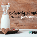 Exclusively Fed With Love: Judgment Free Zone