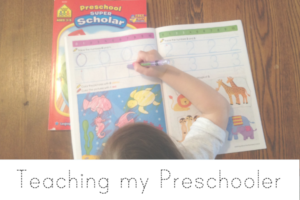 Teaching-my-Preschooler