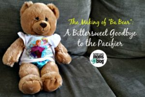 Fairfield County Moms Blog | A Bittersweet Goodbye to the Pacifier