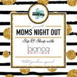Sip & Shop at Bianca Boutique {A Mom's Night Out Event}