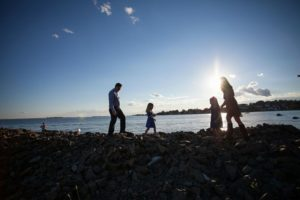 Jessica and her family at Sherwood Island in Westport, CT (photo credit: 47Moments Photography)