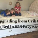 Upgrading From Crib to Big Bed in 658 Easy Steps