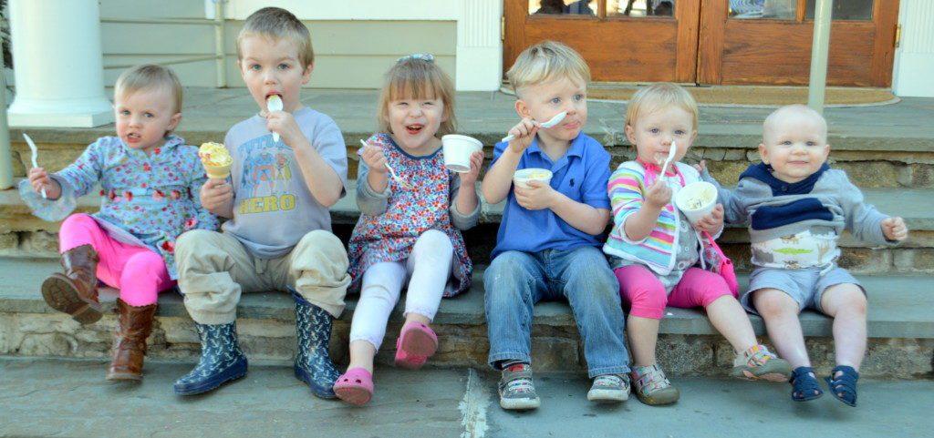 Happy kids enjoying some Brendan's