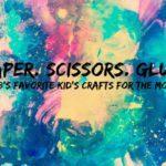 Paper. Scissors. Glue. {favorite kid's crafts for October}