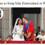 Five Ways to Keep Kids Entertained at Weddings