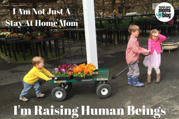 I Am Not Just A Stay At Home Mom