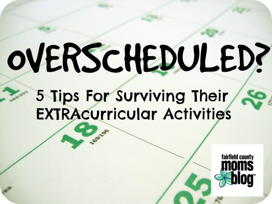 Overscheduled? 5 Tips For Surviving Their Extracurricular Activities