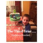 The Third Year……Updates Needed
