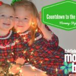 Countdown to the Holidays – Mommy Style