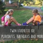 Twin Etiquette 101: Playdates, Birthdays and More