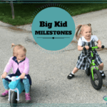 Big Kid Milestones