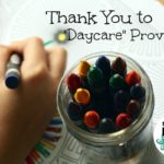 Thank You to Daycare Providers