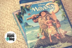 Moana DVD case.