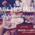 A Mom and Dad's Night Out at Wine and Beyond {beer & wine tasting}