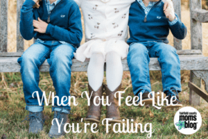When You Feel Like You're Failing