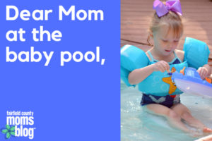 Dear Mom at baby pool, (1)