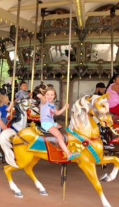 Nothing like a carousel ride!