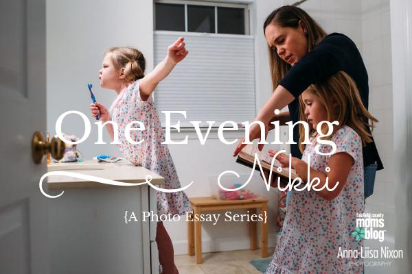 One evening with Nikki