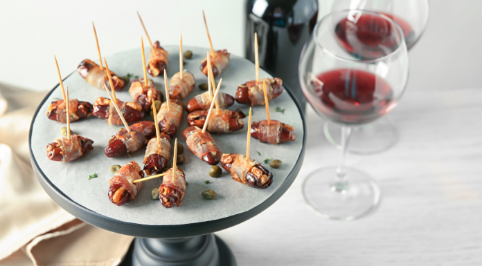 bacon wrapped dates