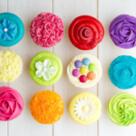 The Easiest Birthday Party Ever {Crafts and Cupcakes}